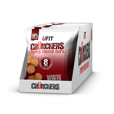UFIT Crunchers 11x35g / Smokehouse BBQ