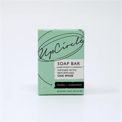 UpCircle Fennel & Cardamom Chai Soap Bar (order in singles or 12 for trade outer)