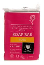 Urtekram Organic Rose Soap 100g (order in singles or 12 for trade outer)