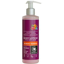 Urtekram Organic Nordic Berries Body Lotion 250ml (pump)