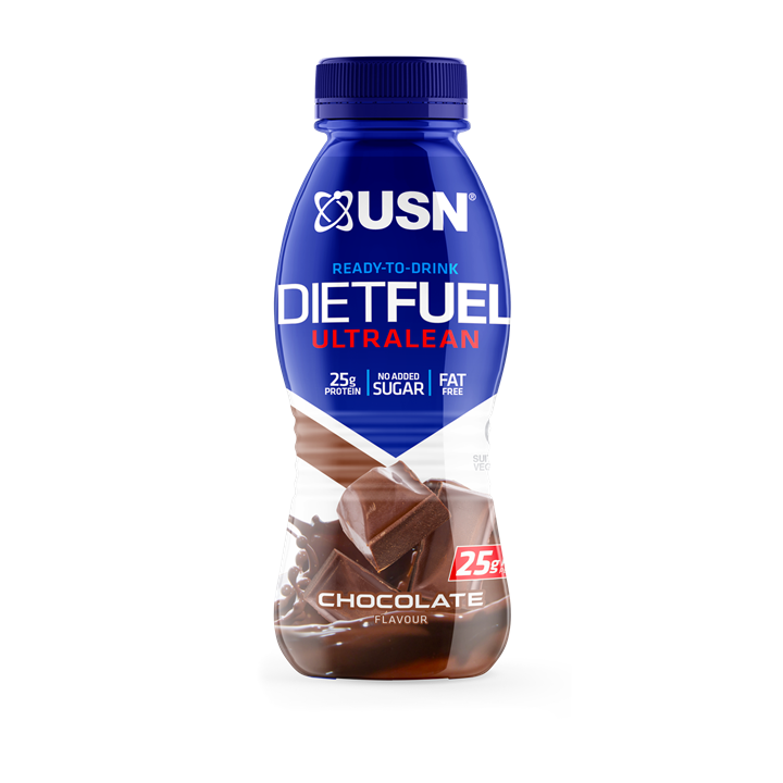 USN Diet Fuel Ultralean RTD 8x310ml / Chocolate