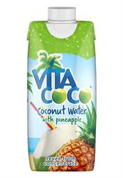 100% Natural Coconut Water with Pineapple 330ml (order in singles or 12 for trade outer)