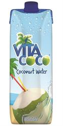 100% Natural Coconut Water 1000ml (order in singles or 12 for trade outer)
