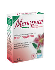 Menopace 90 tablets (order in singles or 4 for trade outer)