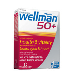 Wellman 50+ 30 Tabs (order in singles or 4 for trade outer)