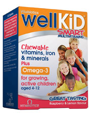 Wellkid Chewable 30 tablets (order in singles or 4 for trade outer)