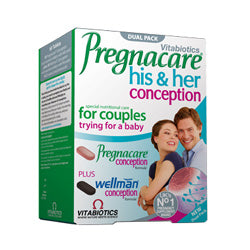 Pregnacare His & Hers 60 Tablets (order in singles or 4 for trade outer)
