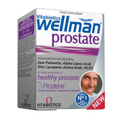 Wellman Prostate 30 Tabs (order in singles or 4 for trade outer)