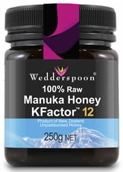 100% RAW Manuka Honey KFactor 12 250g (order in singles or 12 for trade outer)