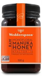 100% RAW Manuka Honey KFactor 16 500g (order in singles or 12 for trade outer)