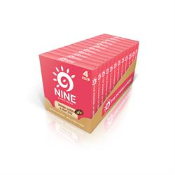 9NINE Original, Carob & Hemp Seed Multipack 4 x 40g (order in singles or 12 for trade outer)