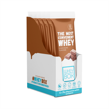 Whey Box The Most Convenient Whey 12x20g / Chocolate