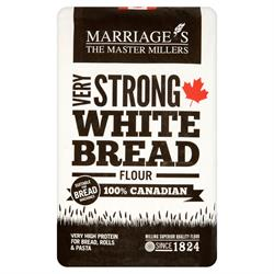 Very Strong White 100% Canadian Bread Flour 1.5kg (order in singles or 5 for trade outer)