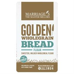 Golden Wholegrain Strong Bread Flour 1000g