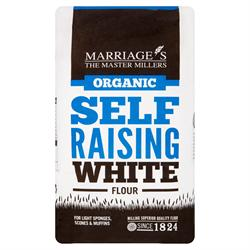 Org Self Raising White Flour 1000g