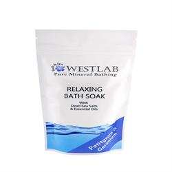 WESTLAB Relax Dead Sea Salt Bath Soak - 500 G (order in singles or 10 for trade outer)