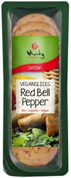 10% OFF VEGANSLICES Red Bell Pepper 100g (order in singles or 10 for trade outer)