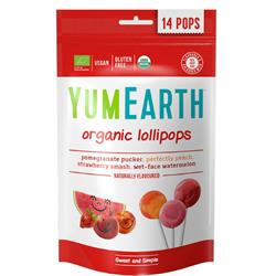 Organic Pops 14 Lolly Bag 85g (order 6 for retail outer)