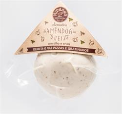 Mozzarella Style Alternative Almond with Garlic and Oregano 100g (order in singles or 5 for trade outer)
