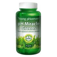 pH Miracle Greens 90 Capsules (order in singles or 24 for trade outer)