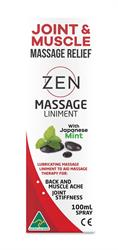 Zen Herbal Massage Liniment 100ml