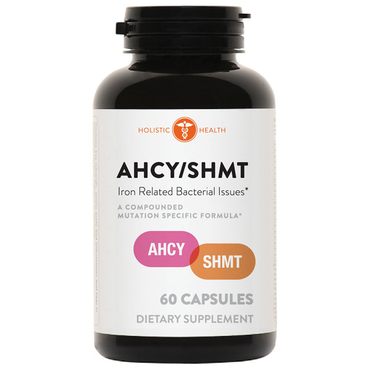 Holistic Health AHCY / SHMT - Iron Related Bacterial Issues 60 Capsules