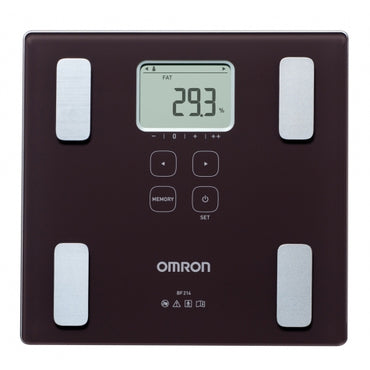 OMRON HBF-214-EBW | Body Compos Monitor | Fat S
