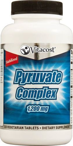 Vitacost Pyruvate Complex - 1200 mg - 120 Vegetarian Tablets