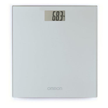 OMRON Weighing Scales | Auto On-Off | Silver