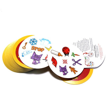 70mm spot board games mini style for kids like it classic education card game English version home party fun