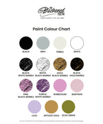 Colour Swatch Chart, The Blackened Teeth Ltd