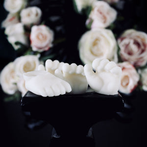 Baby Doll Parts Wax Melts, Candles, The Blackened Teeth