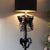The Skeleton Floor Lamp - Black