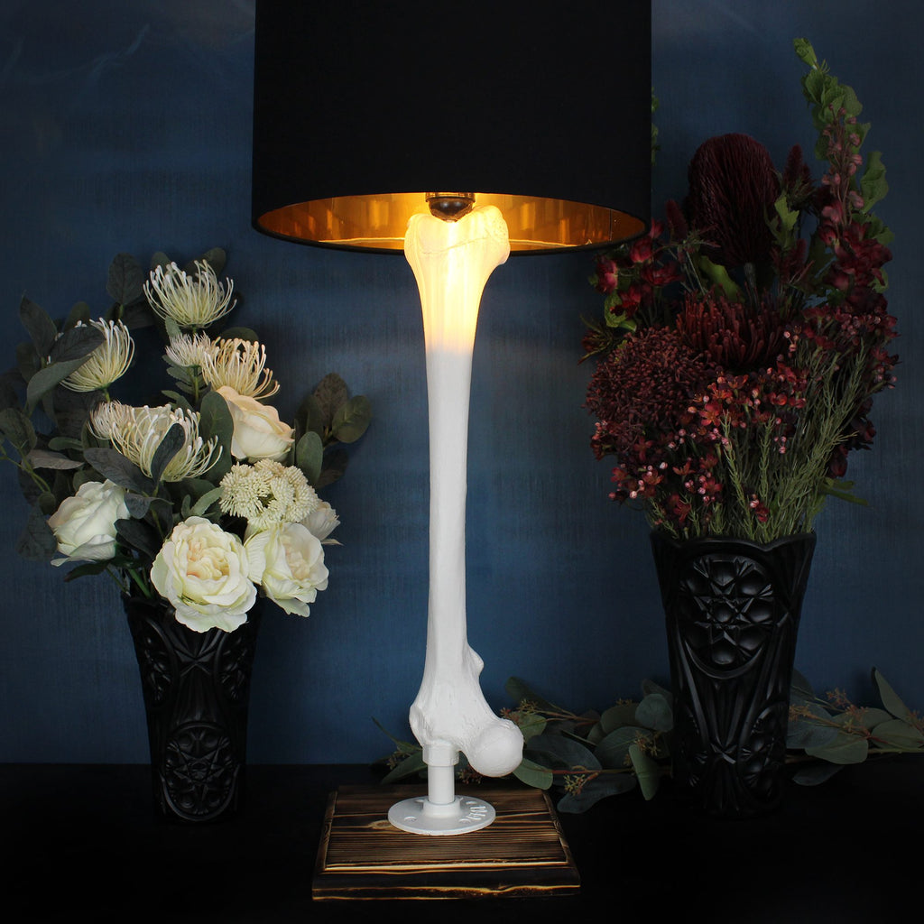 The Faux Femur Bone Lamp