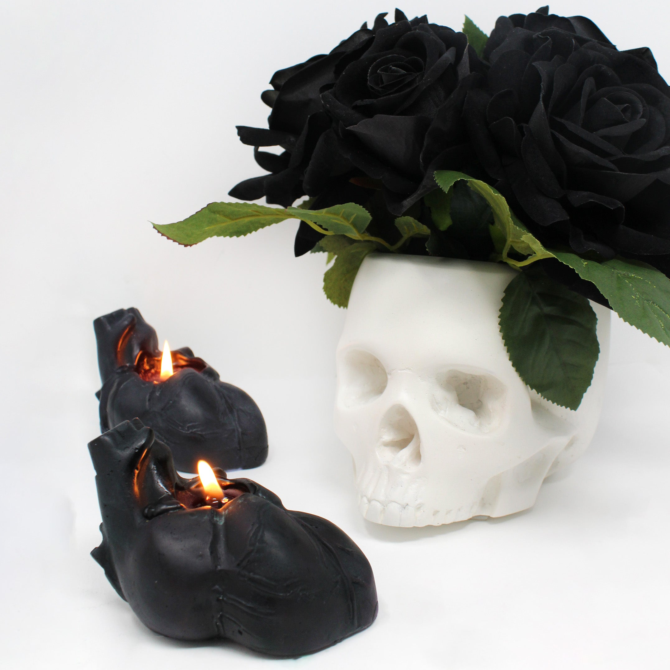Morticia Flowerhead, The Blackened Teeth