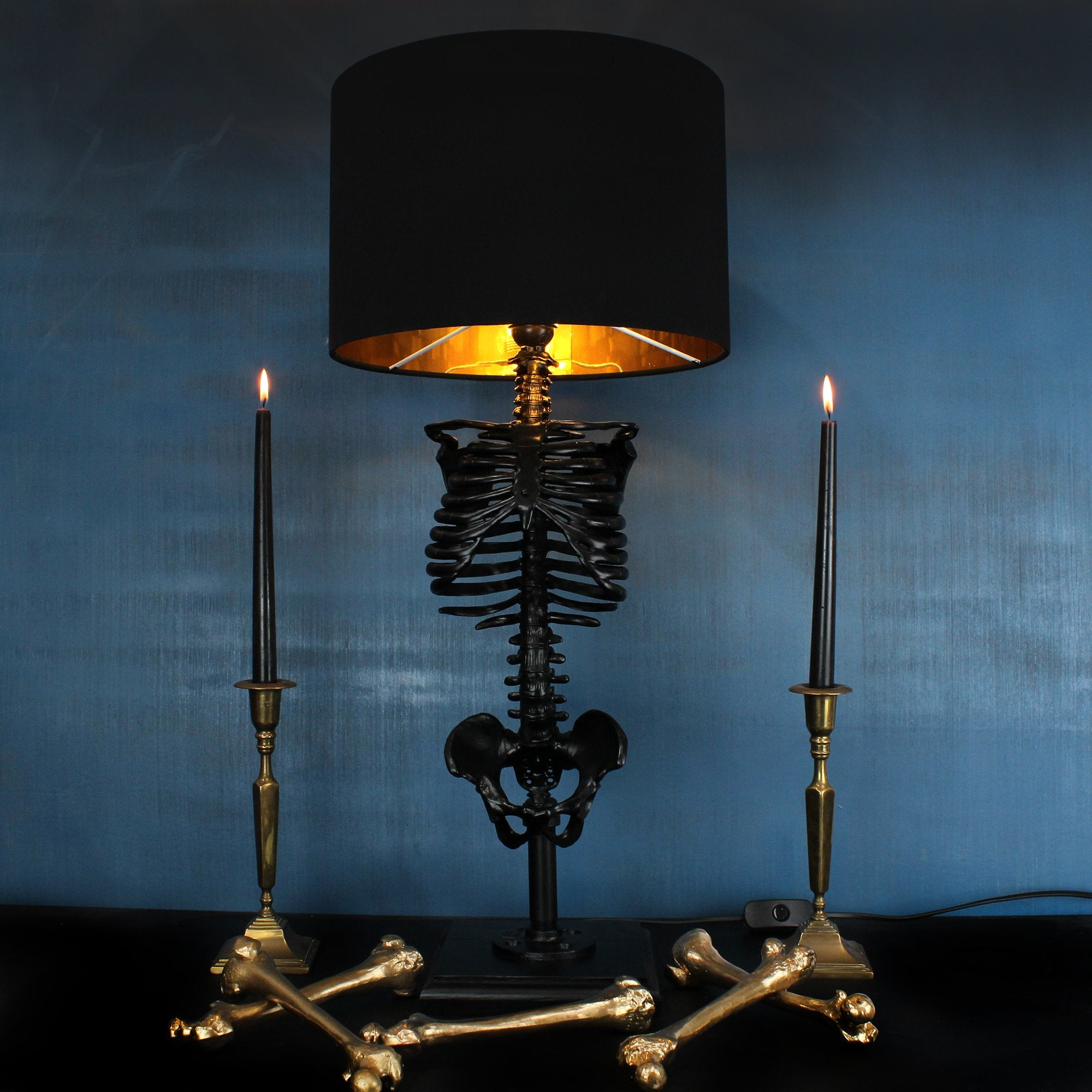 The Skeleton Table Lamp