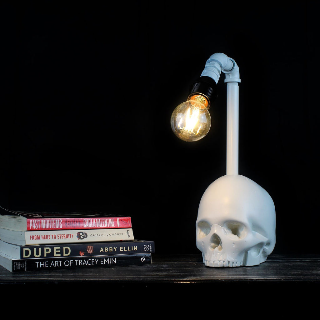 Skull Desk Lamp Skull Lamps The Blackened Teeth