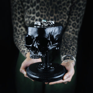 Skull Ring Holder, The Blackened Teeth Ltd
