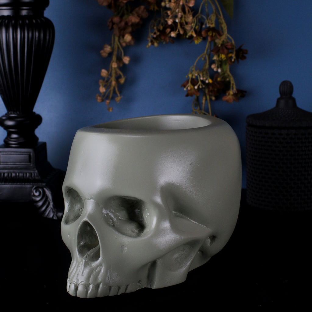 Jawless Skull Pot - The Autumn Collection