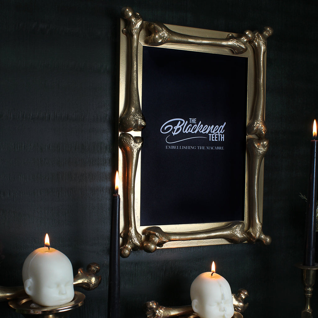 The Bone Frame - Antique Gold