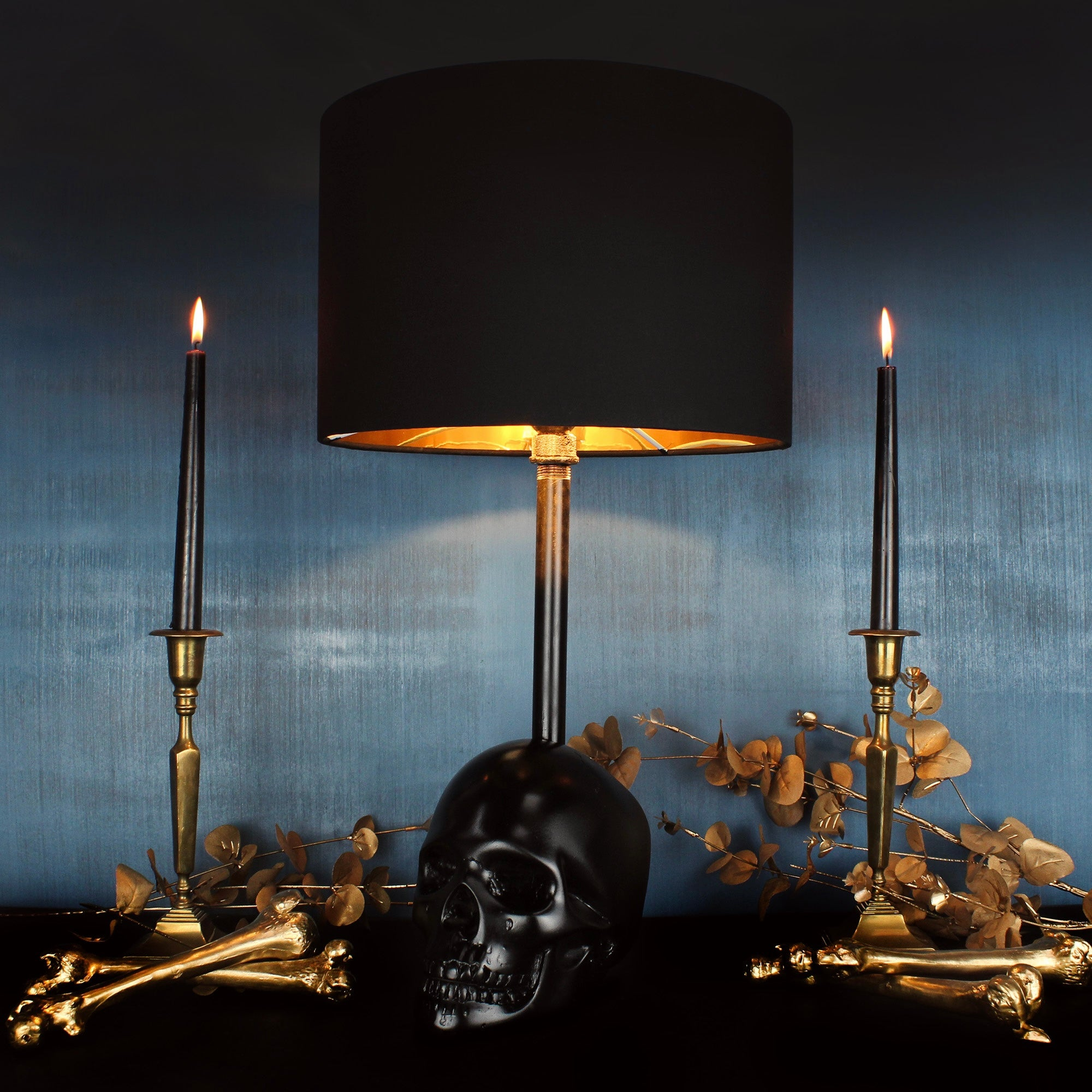 Skull Lamp - The Edison