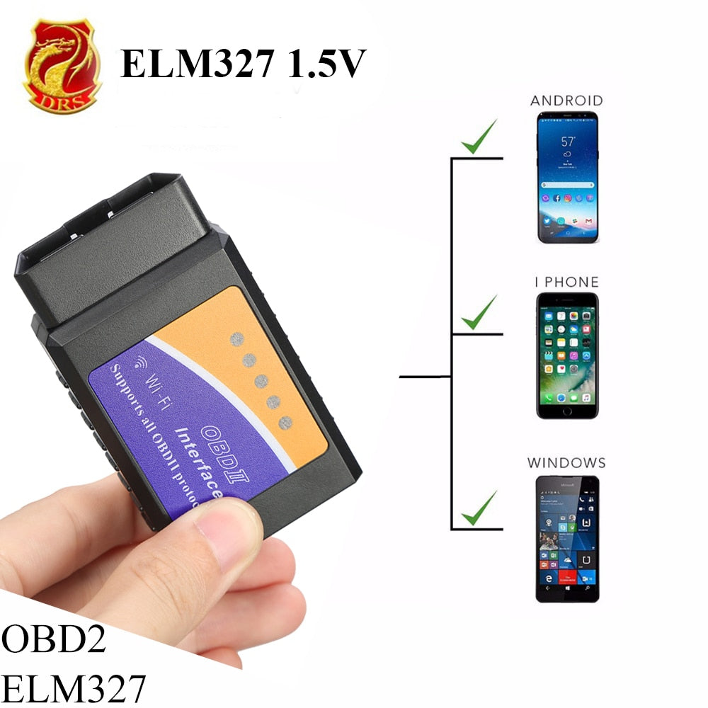 As Seen on TV  It's like that-Only less expensive  The Wifi Bluetooth OBD2  OBDII Diagnostic Tool Scanner Car Fault Auto Code Reader for IOS/Android