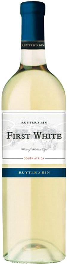 FIRST WHITE 2017 - 0,75L - RUYTER´S BIN