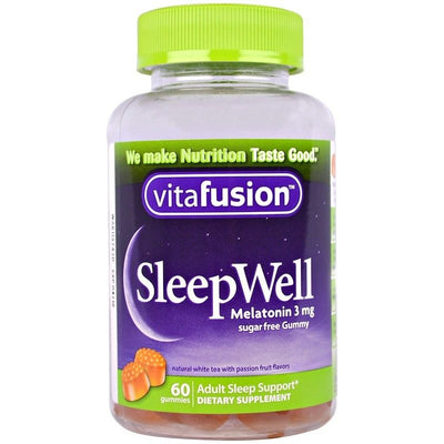VitaFusion, SleepWell, Adult Sleep Support, 60 Gummies (Available October 2018)