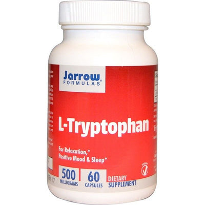 Jarrow Formulas, L-Tryptophan, 500 mg, 60 Caps