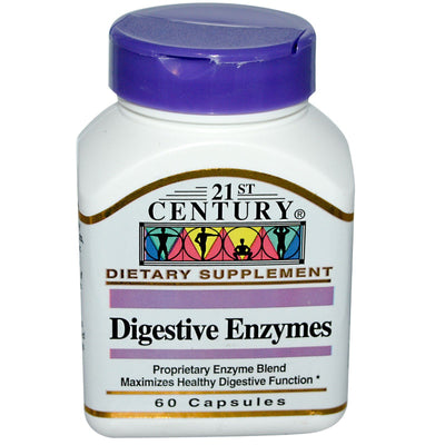 21st Century, Digestive Enzymes x 60 Capsules