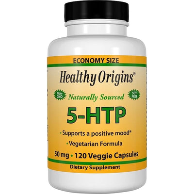 Healthy Origins, 5-HTP, 50 mg x 120 Vcap - Insomnia - Anxiety - Depression