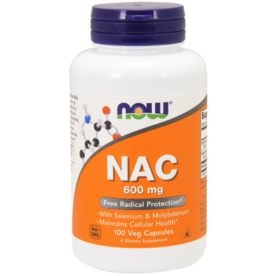 Now Foods, NAC, 600 mg x 100 Veg Capsules