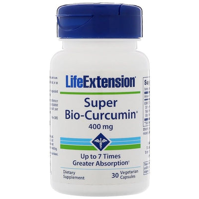Life Extension, Super Bio-Curcumin, 400 mg, 30 Vegetarian Capsules