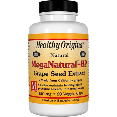 Healthy Origins, MegaNatural-BP Grape Seed Extract - 150mg x 60caps